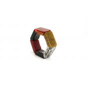 Pulseira Hexagonal
